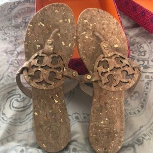 Tory Burch Sandals, size 9. Very unique. Worn once